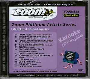 Zoom-Karaoke-Platinum-Artists-CDG-Vol-092-ZPA092-Elvis-Costello-Squeeze