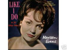 MAUREEN EVANS - Like I do - Rare POP CD