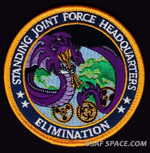USAF STANDING JOINT FORCE HEADQUARTERS WMD ELIMINATION ORIGINAL DOD PATCH