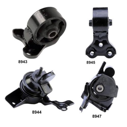 4Pcs Tiburon 2.0L Trans /& Engine Mount Set Manual For Hyundai Elantra 2.0L