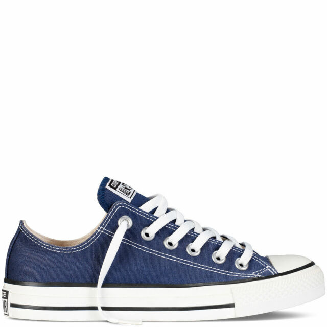 b9a4aa4ab7c54b Converse Chuck Taylor All Star Ox Shoes Navy M9697c Sneaker Trainers ...