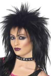 Détails sur Ladies BLACK ROCK Diva Perruque