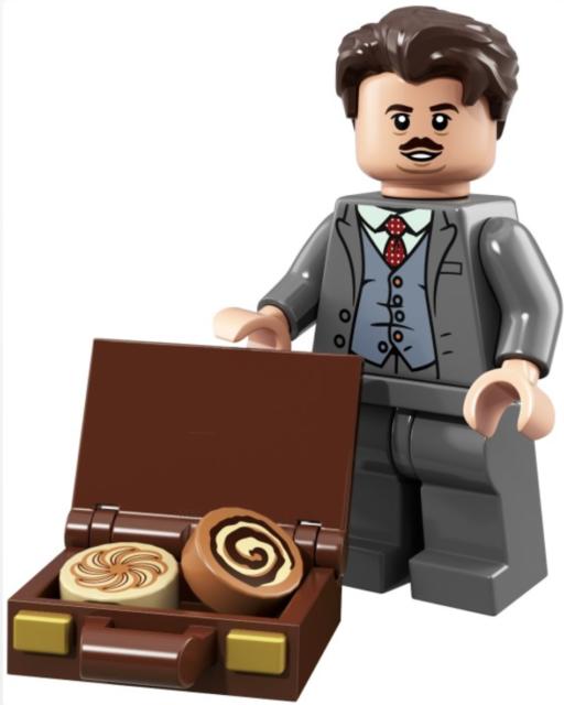 LEGO Jacob Kowalski UNOPENED 71022 Harry Potter & Fantastic Beasts Minifigure 19