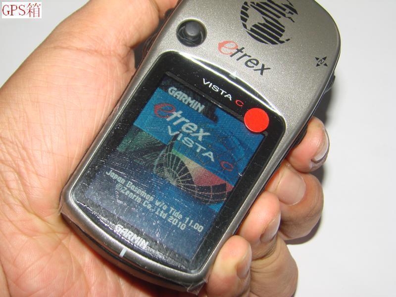 Garmin eTrex Vista C color LCD Handheld Hiking GPS Receiver(Altimeter Compass)