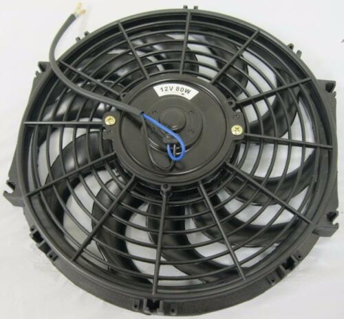 """Mounting Kit 12/"""" Curved S-Blade Heavy Duty Electric Radiator Cooling Fan"""