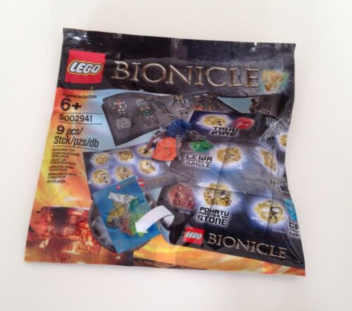 Sealed,rare and Exclusive!! #NEW#LEGO BIONICLE HERO PACK 5002941