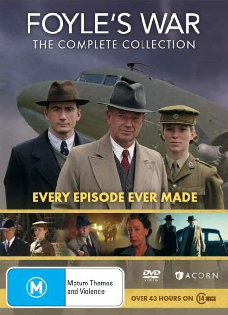 Foyles War The Complete Collection BRAND NEW Region 4 DVD