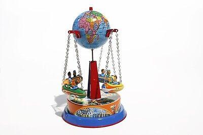 Blechspielzeug Globus Carousel Noch Nicht VulgäR Karussell Mit Gondeln Made In Germany
