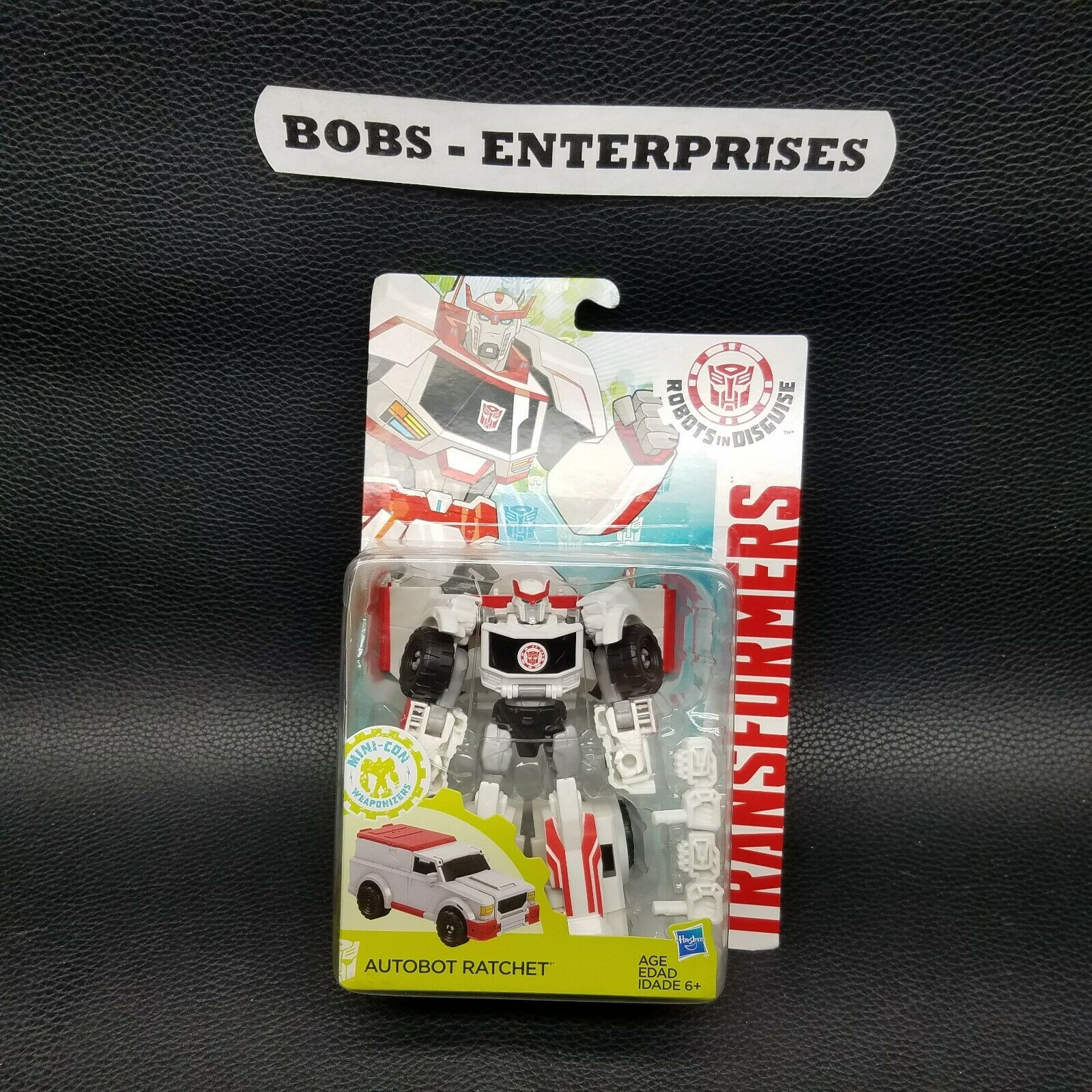 Transformers Autobot Ratchet Robots in Disguise Warrior classe   tr-21