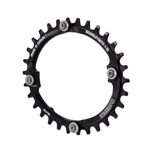 black 30T Blackspire Snaggletooth 104BCD Oval NW chainring