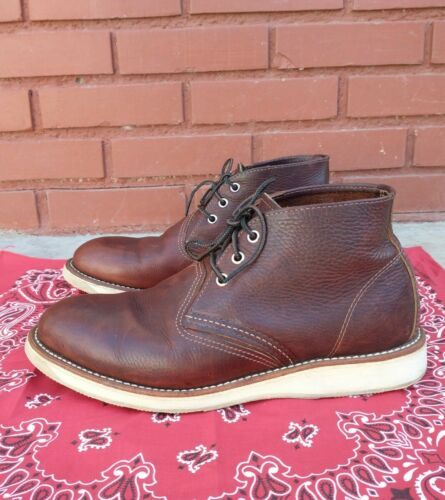 Red Wing Heritage Chukka Briar Oil leather Boot Me