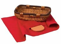 Keilen Bread Warmer And Basket , New, Free Shipping