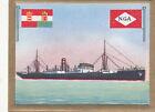 Cargo steamers Nimrod NGA Triest Italia Italy Italie FLAG CARD 30s