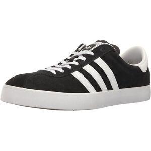 Details about adidas Originals Men's NEW Black White 3-Stripes Skateboarding Shoes Sneakers