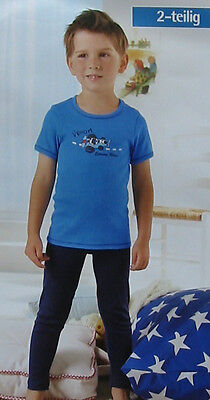 NEU Kinder Sportwäsche Leggings & Shirt lange Unterhose & Hemd Unterwäsche 74/80