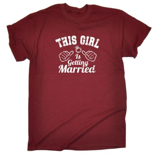 Men/'s This Girl Is Getting Married Bridesmaid Hen Night Bridal T-SHIRT Birthday