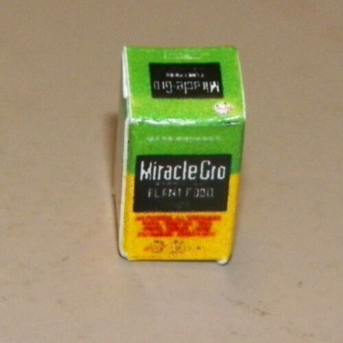 Miracle Grow in Small Box Dollhouse Miniatures