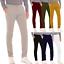 Pantalone-Uomo-Slim-fit-Chino-Elegante-Invernale-America-Cotone-Tasca-america miniatura 1
