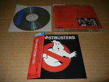 Ghostbusters OST Japan CD 35RD-11 3500Yen Alessi Ray Parker Jr. Air Supply