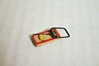 Miniature Rat Trap 1:12 Mexican Import Kitchen Folk Art Mercado Store Mouse C224