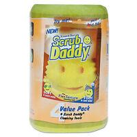 Scrub Daddy, Inc. Scratch-free Scrubbing Sponge, 4 1/8 Diameter, Yellow, on sale