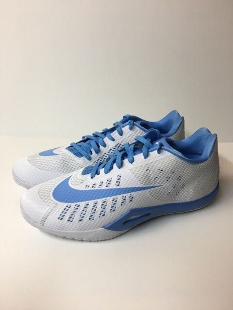 d85e4262be1 Nike Hyperlive TB Men Athletic Shoes White Blue 834488-142 Tar Heels Size  18 NEW