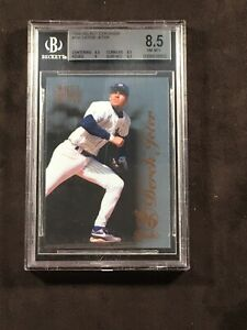 1996-Select-Certified-Derek-Jeter-BGS-8-5-100-Rookie-RC-Hall-Of-Fame