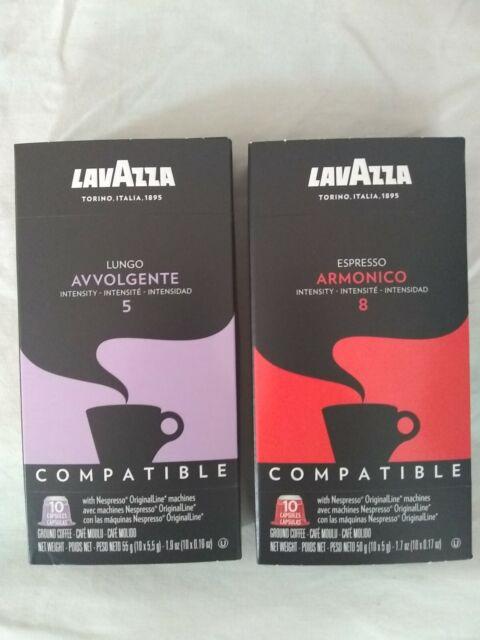 Lavazza Coffee Nespresso Capsules OriginalLine Compatible ...