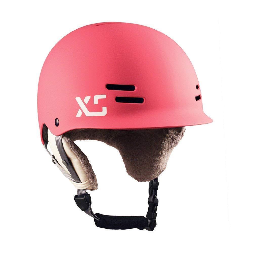 XS Helmets Women's Freeride All-Season Helmet w  Removable Ear Covers, Matte Neon  fashion brands