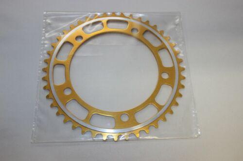 NEW OLD STOCK Duralumin 44 T Chainwheel Chaîne Ring Gold BMX vintage old school