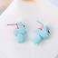 Hipopotamo-Dulce-Pendientes-Animal-en-Oreja-Ninos-Azul miniatura 4