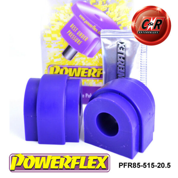 100% Kwaliteit Seat Toledo Mk3 5p (2004-) Powerflex Rear Roll Bar Bushes 20.5mm Pfr85-515-20.5