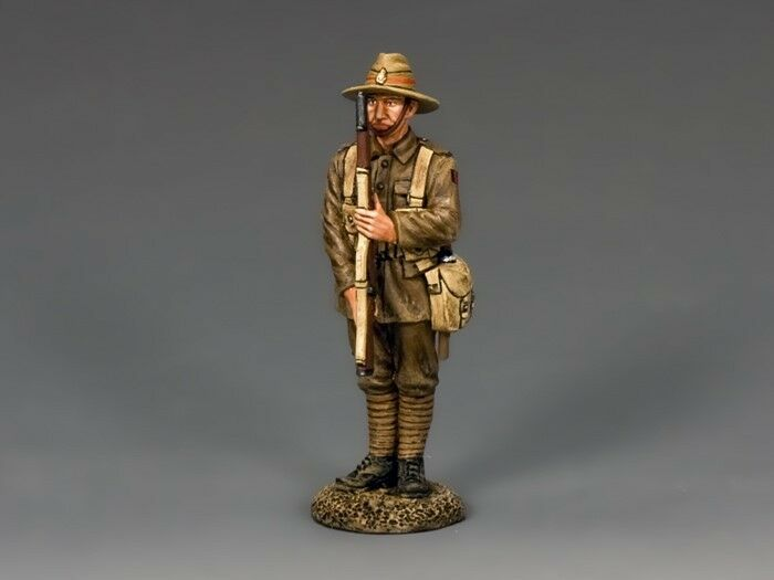 King & Country Soldiers FW183 World War I New Zealander Present Arms 1 30 Scale