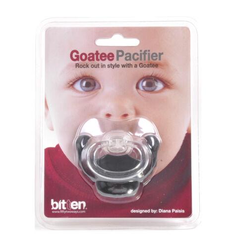 Goatee Dummy Pacifier