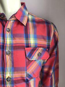 Ben Sherman Shirt, Liverpool Plaid, Large, Excellent Condition