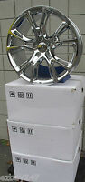 20 Jeep Grand Cherokee Srt8 2013-2016 Style 20x10 Set Of Chrome Rims 9113