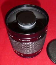 Centon 500mm f8 Mirror Lens M42 Screw Fit