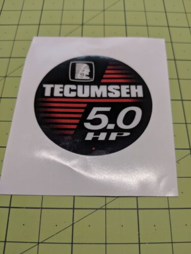 Tecumseh 5HP Power Sport Decal