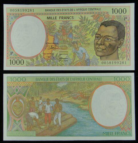 1000 Francs UNC ECCAS Chad Banknote P