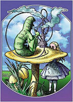 Alice In Wonderland - Mikio Kennedy Art Poster - 24x36 Shrink Wrapped - 505