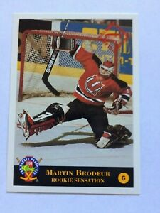 1993 94 Classic Martin Brodeur All Rookie Sensation Card New Jersey