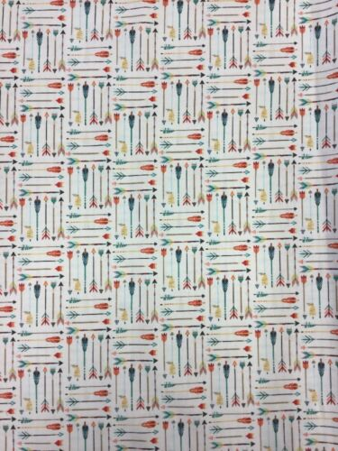 Riley Blake High Adventure Cotton Fabric C5551 Cream By the Half Metre