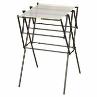 Household Essentials Expandable Clothes Drying Rack, Anitque Bronze, New, Free S on sale