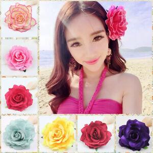 Women-Wedding-Bridal-Hairpins-Rose-Flower-Hair-Clip-Jewelry-Accessories