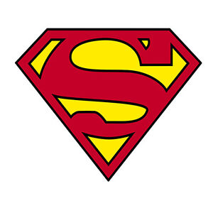Superman Sticker Logo DC Comics Officially Licensed - NEW S-DC-0001