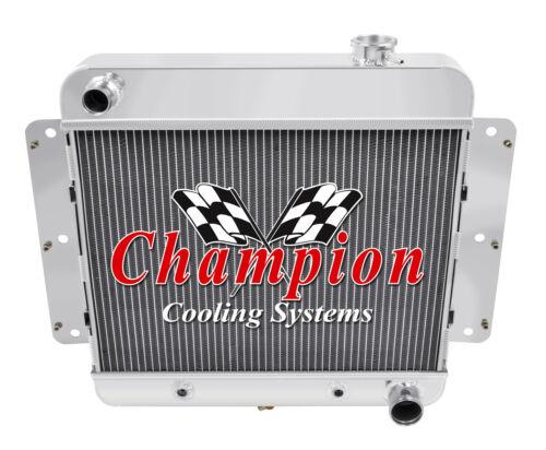2 Row Discount Champion Radiator for 1962-1967 Chevy II Nova L6 Engine