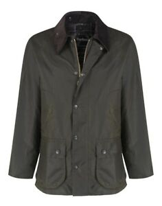 Barbour-Bedale-Classic-Wax-Jacket-in-Olive