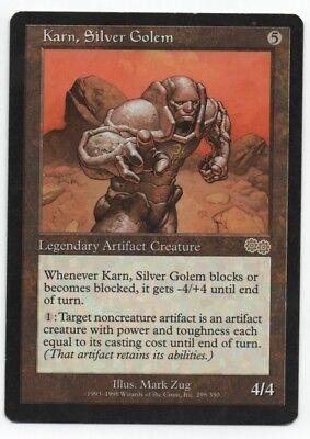 Relics MTG Karn Silver Golem Near Mint Foil English Magic Card From the Vault