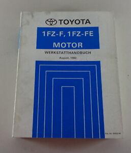 Manual de Taller Toyota Land Cruiser Motor 1 Fz - F/1 Fe Stand 08/1992