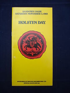 Horse racing  Race Card  Sandown  November 5th 1983  Holsten Day - Waterlooville, United Kingdom - Returns accepted Most purchases from business sellers are protected by the Consumer Contract Regulations 2013 which give you the right to cancel the purchase within 14 days after the day you receive the item. Find out more  - Waterlooville, United Kingdom